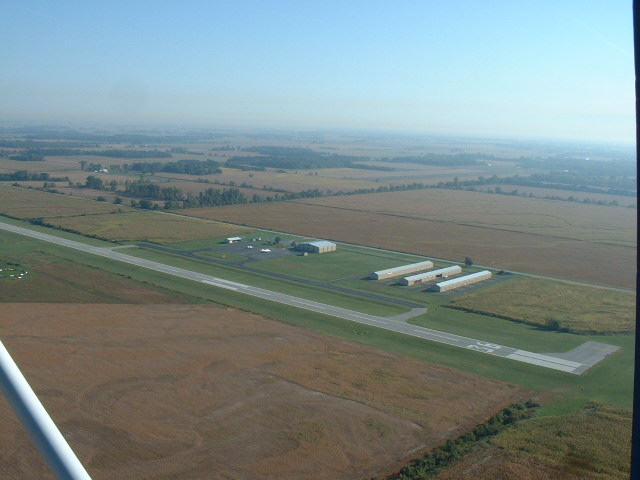 Starke County Airport Aerial Photography